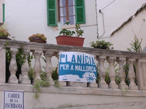 """Banderes """"Planícia per Mallorca"""""""