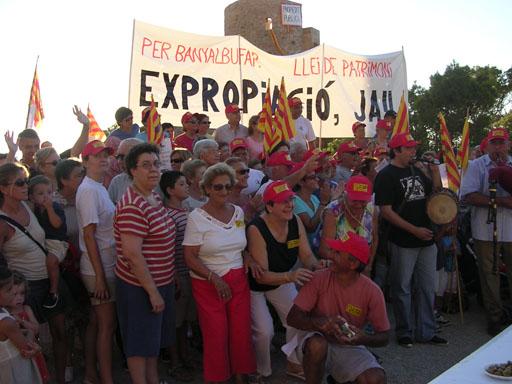 Berenar – Manifestació Sa Torreta 2005