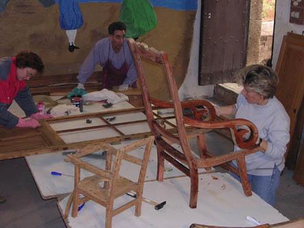 Taller de restauració de mobles