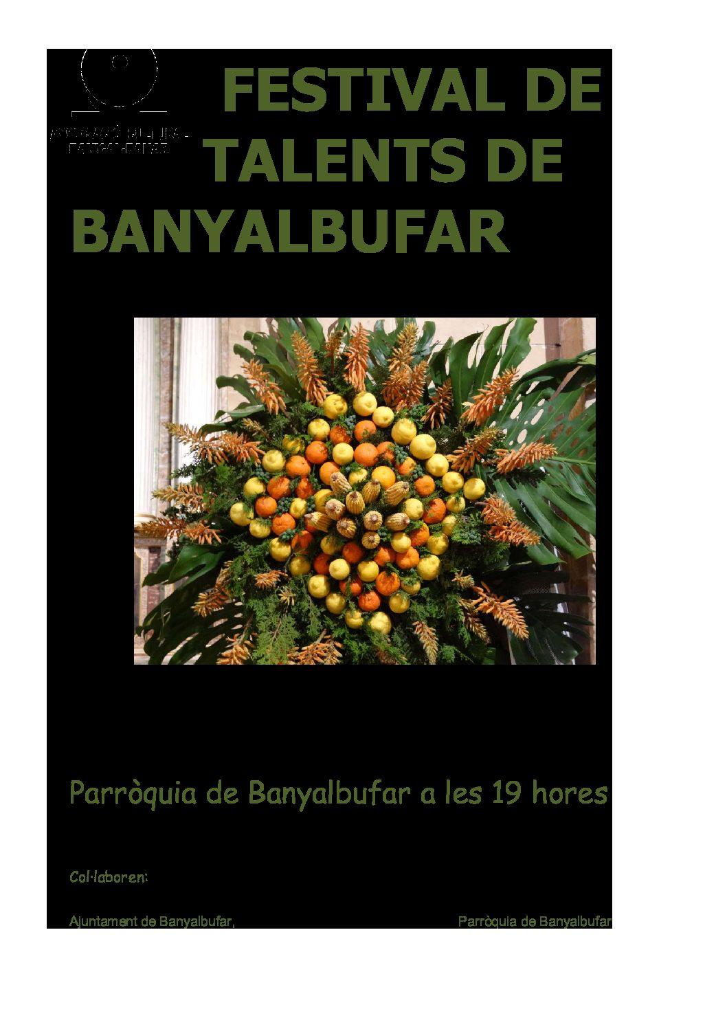 TALENTS DE BANYALBUFAR 2018