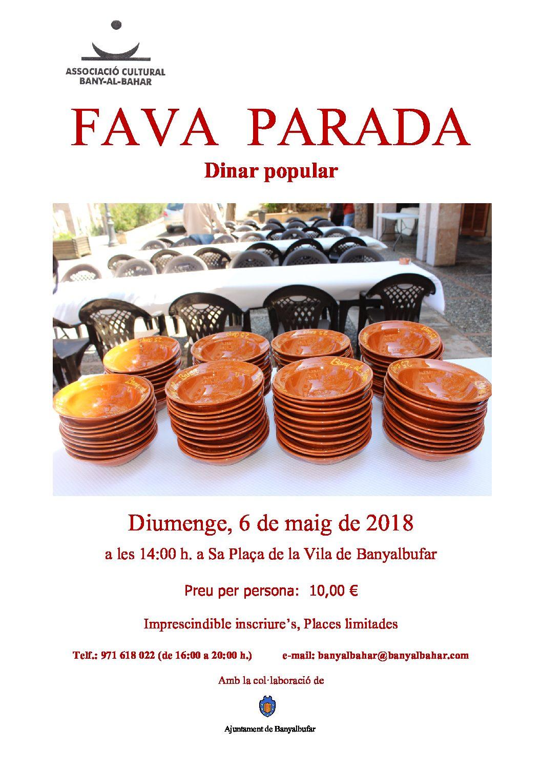 FAVA PARADA 2018