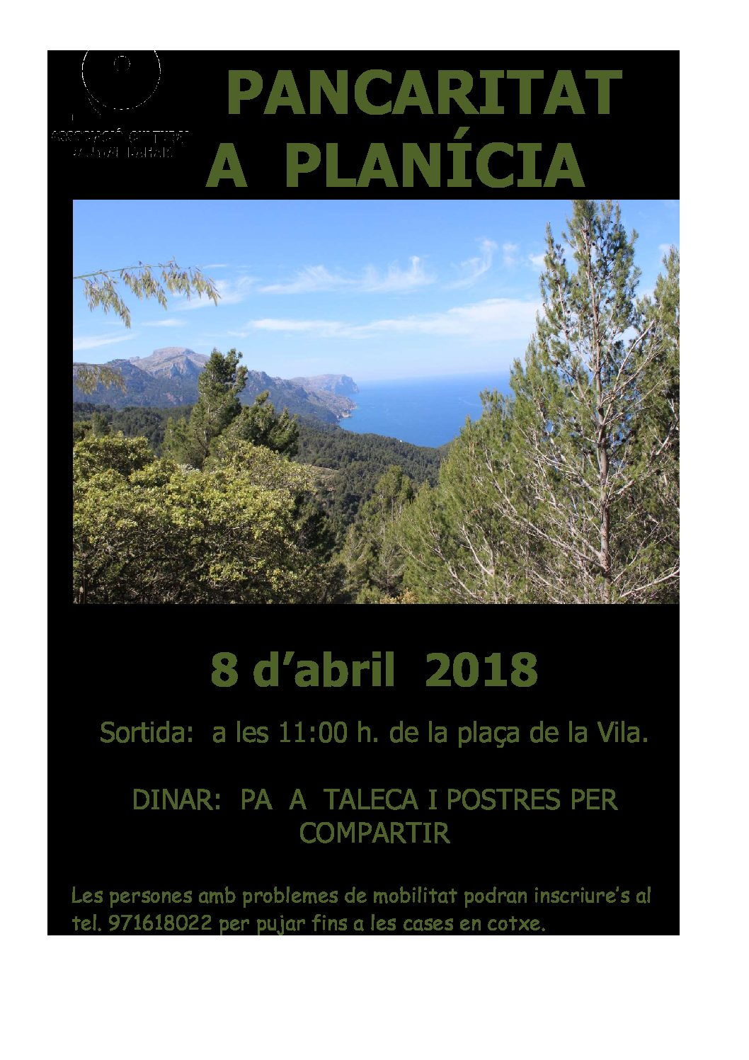Pancaritat a Planícia 2018