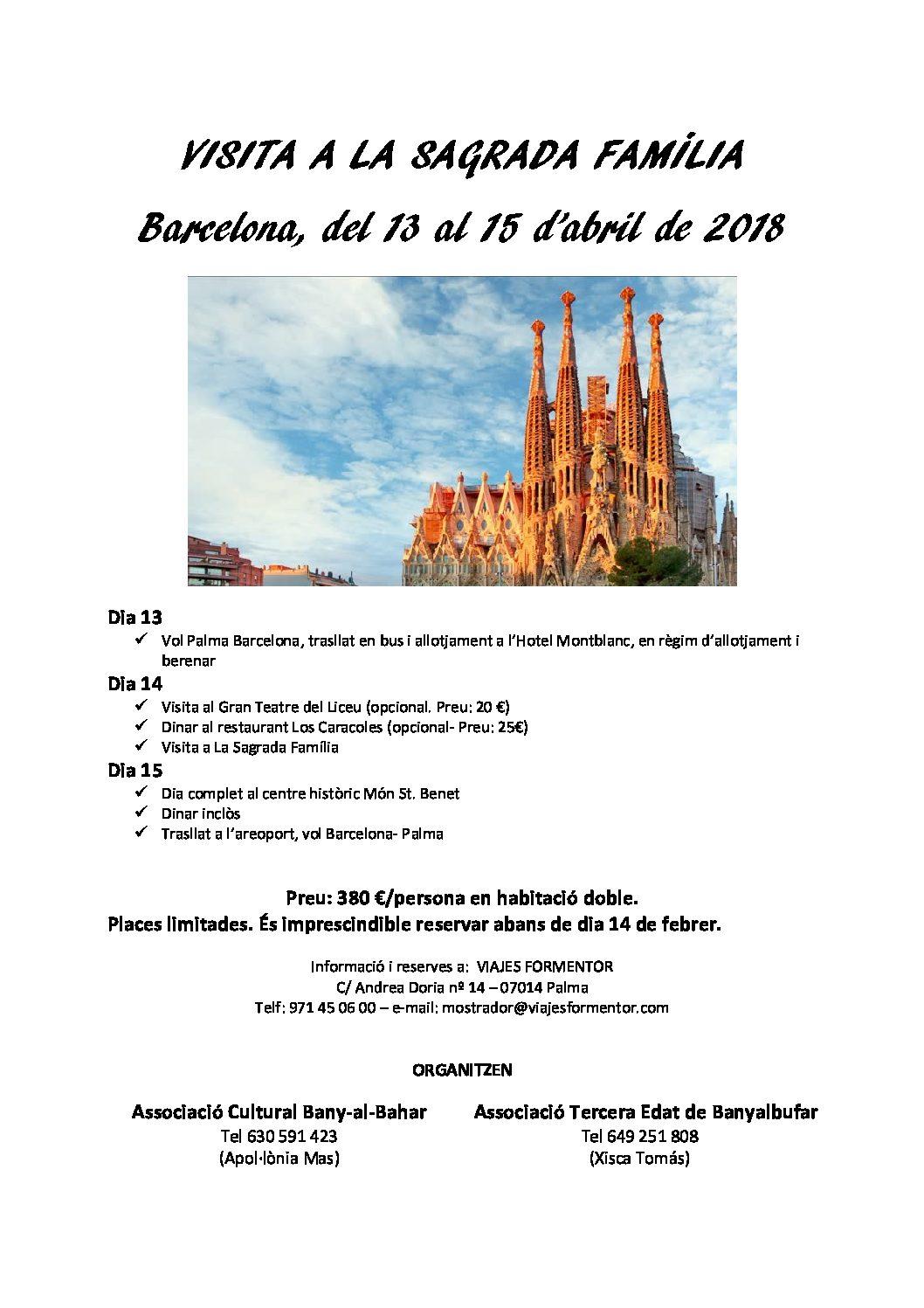 Barcelona 13,14i 15 d'abril de 2018